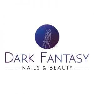 Dark Fantasy Nails & Beauty Logo Design