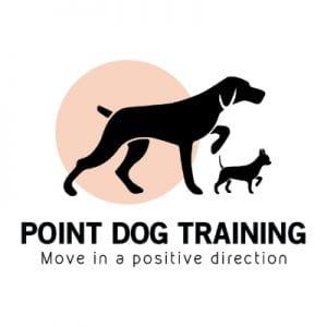 Point Dog Training Logo Design