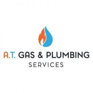 A.T. Gas & Plumbing Services Logo Design