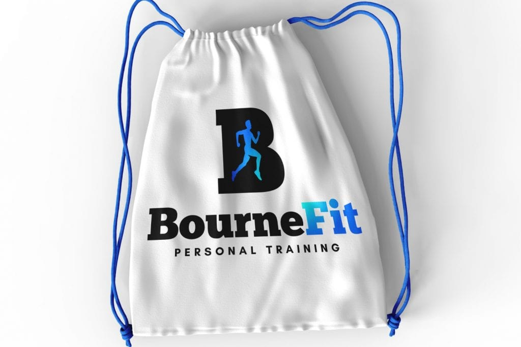 Bourne Fit Personal Training Logo Design