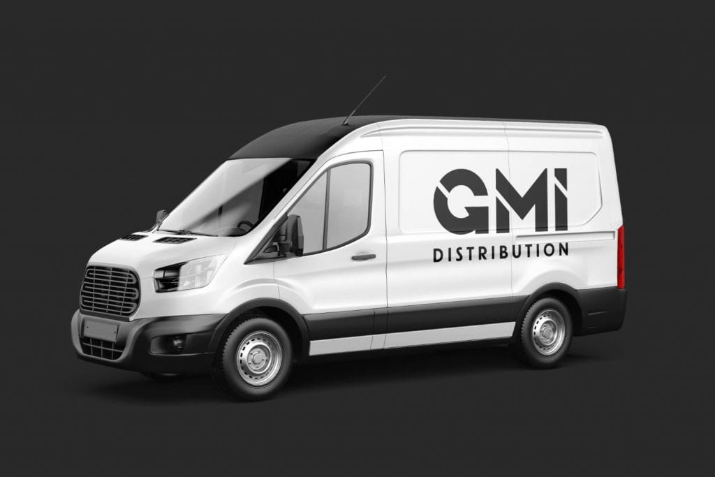 GMI Distribution Logo Design