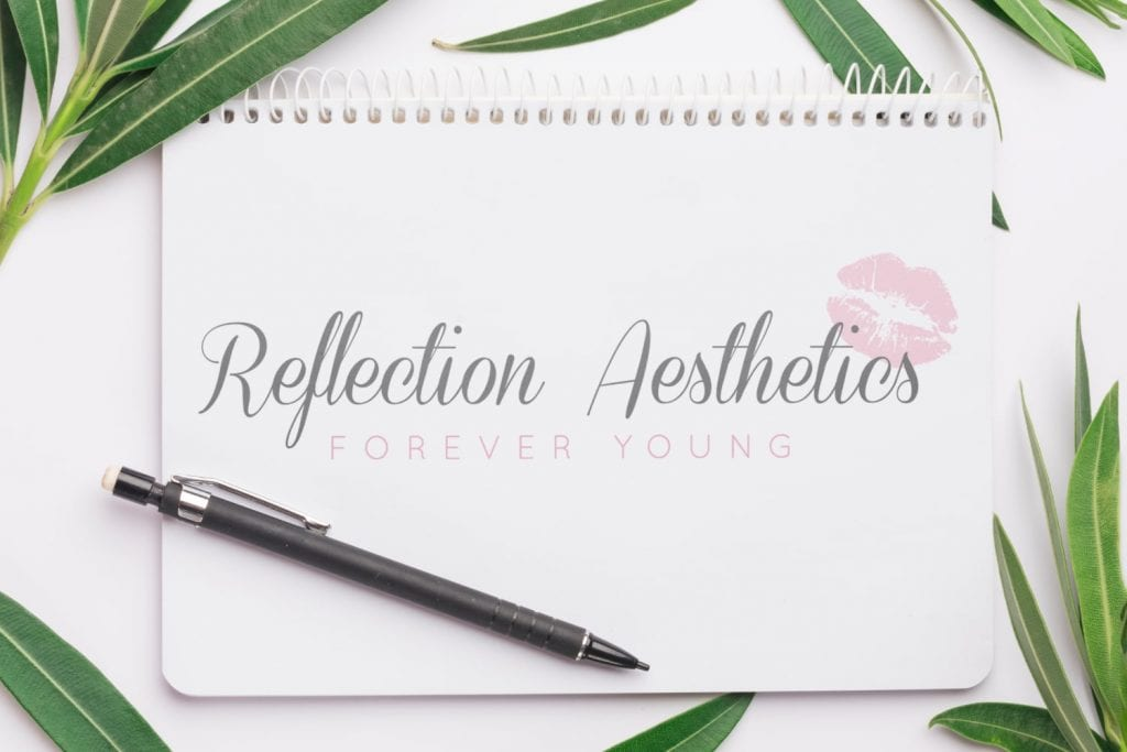 Reflection Aesthetics Logo Design