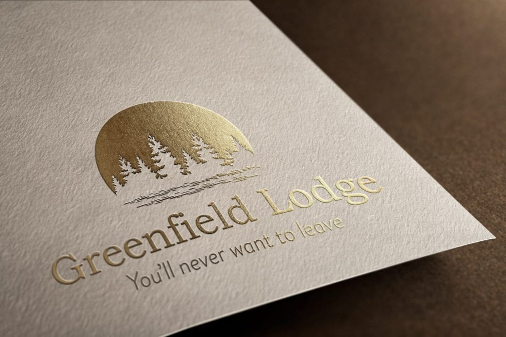 Greenfield Lodge Logo Design