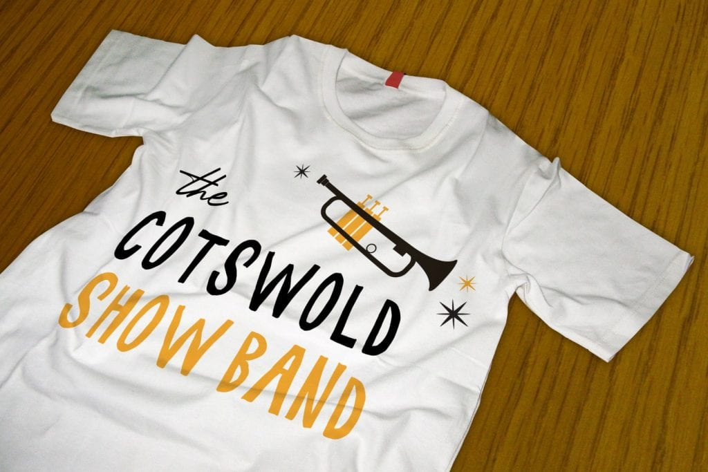 The Cotswold Show Band Logo Design